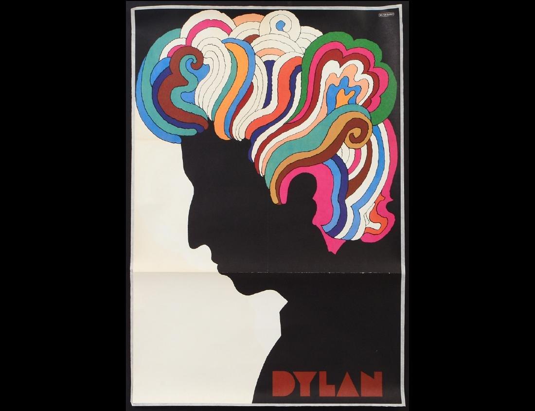 MILTON GLASER (B. 1929) BOB DYLAN POSTER