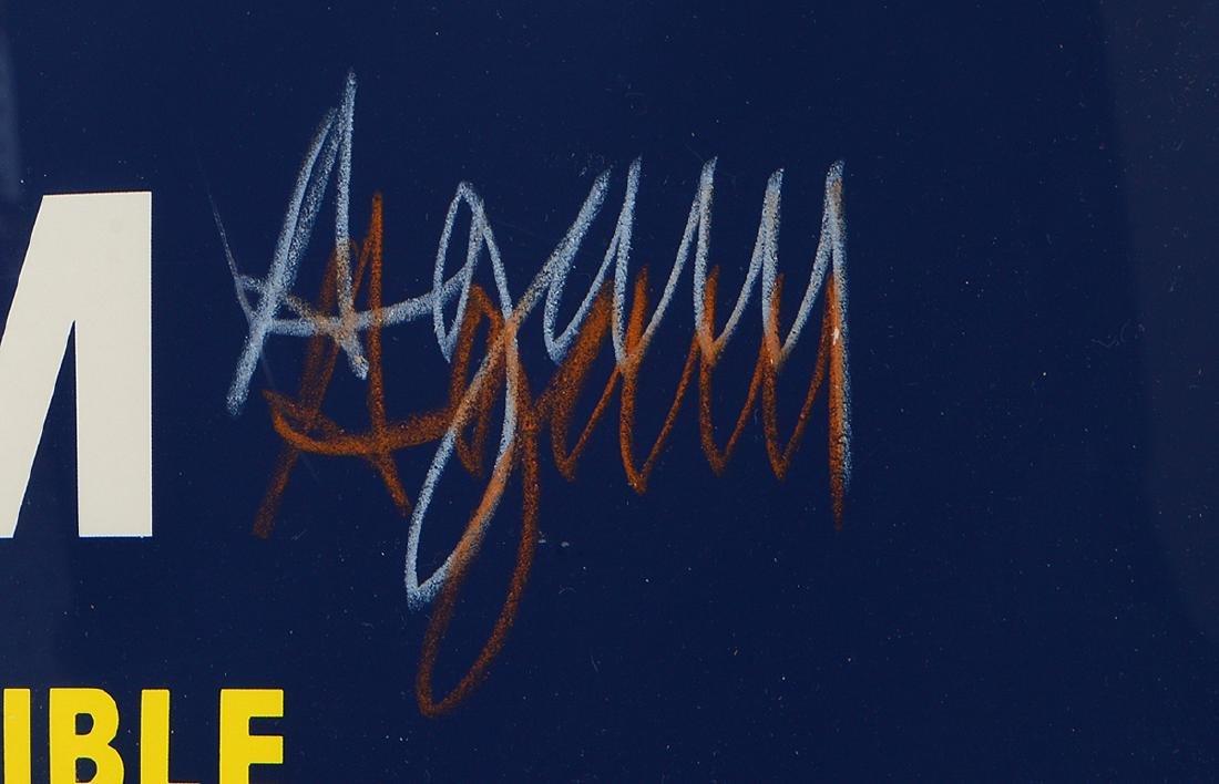YACOV AGAM EXHIBITION COLOR POSTER - 4