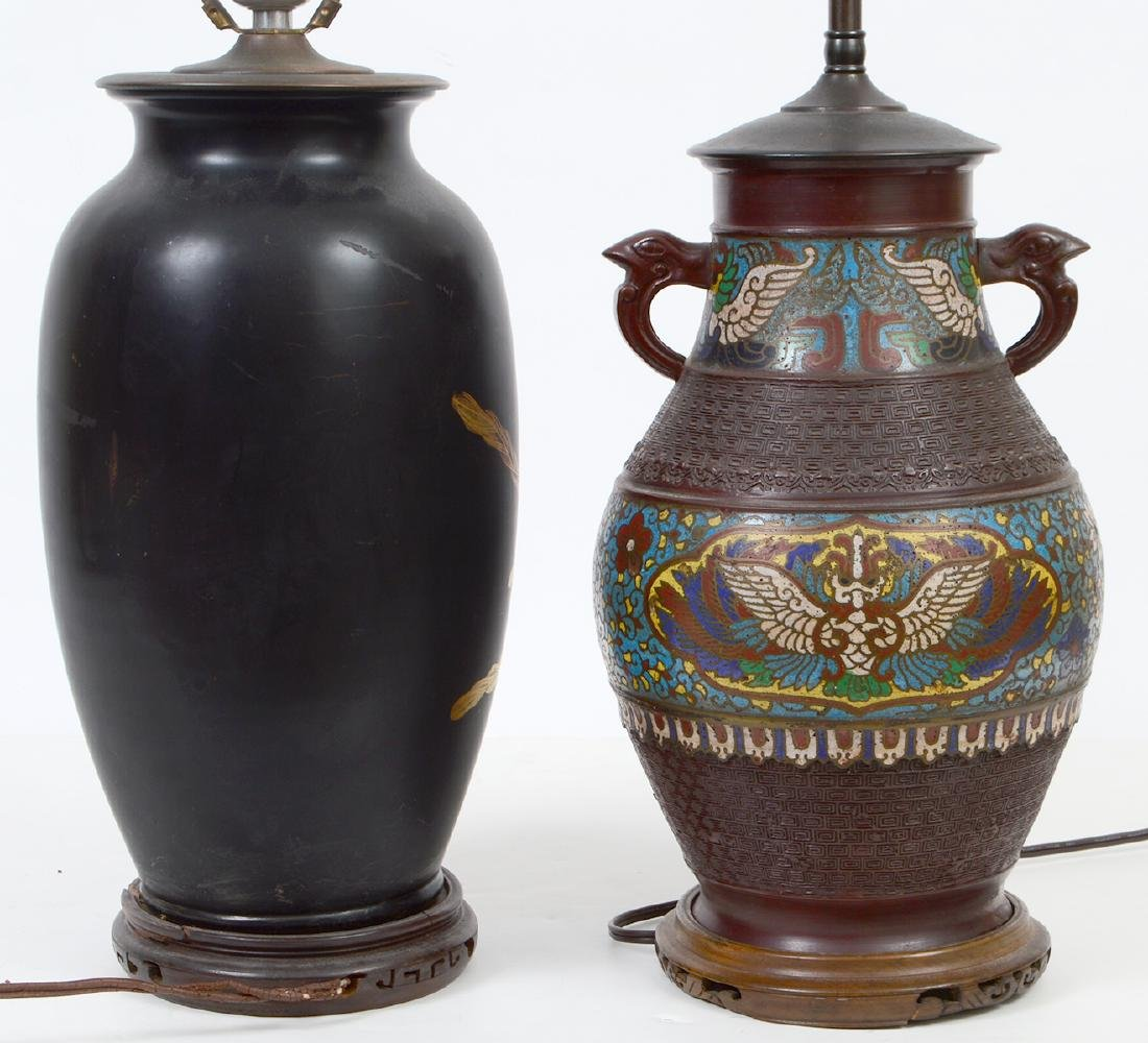 TWO CHINESE LAMPS - 6