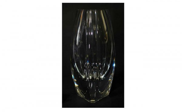 23: Baccarat Triangular-Shaped Crystal Bouton D'Or
