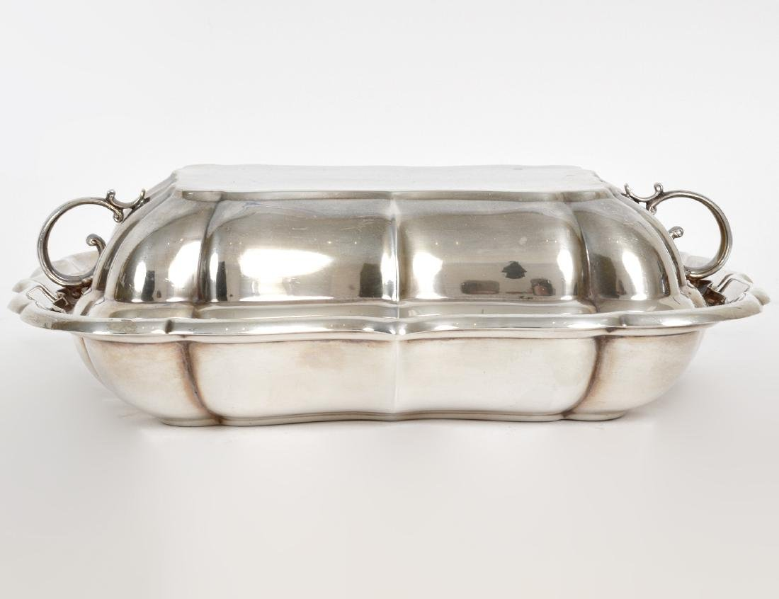 REED & BARTON STERLING SILVER COVERED ENTRÉE DISH