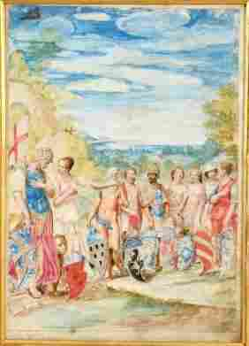 ITALIAN SCHOOL (17th/18th Century)