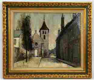 FRENCH SCHOOL 20TH CENTURY PAINTING