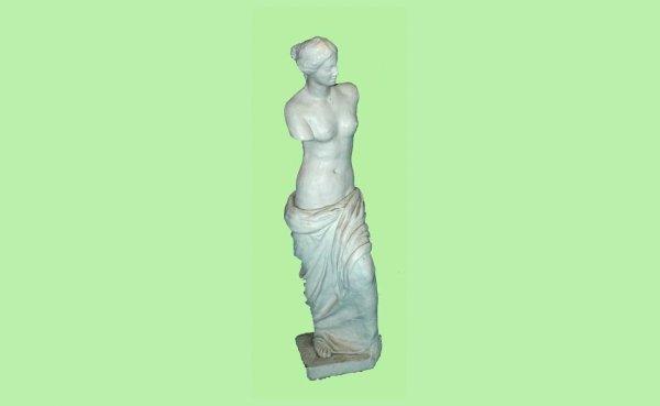 13: Plaster Decorative Sculpture of the Venus de Milo.