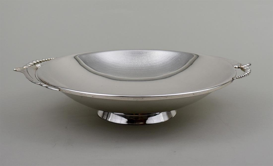 AMERICAN STERLING SILVER SHALLOW BOWL - 2