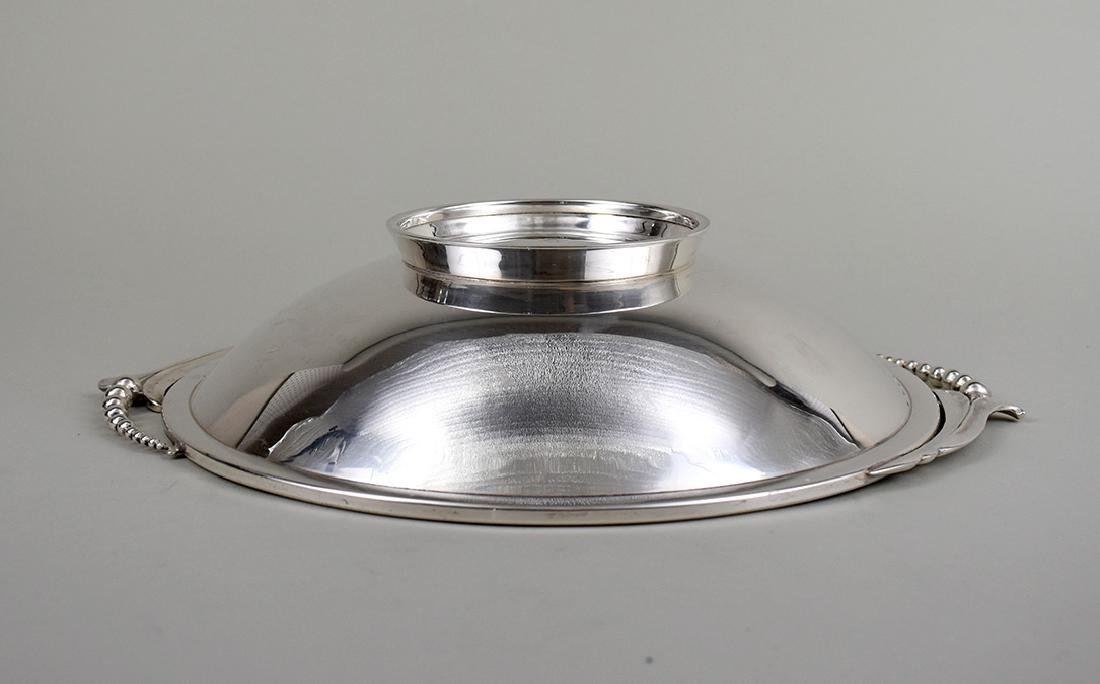 AMERICAN STERLING SILVER SHALLOW BOWL - 3