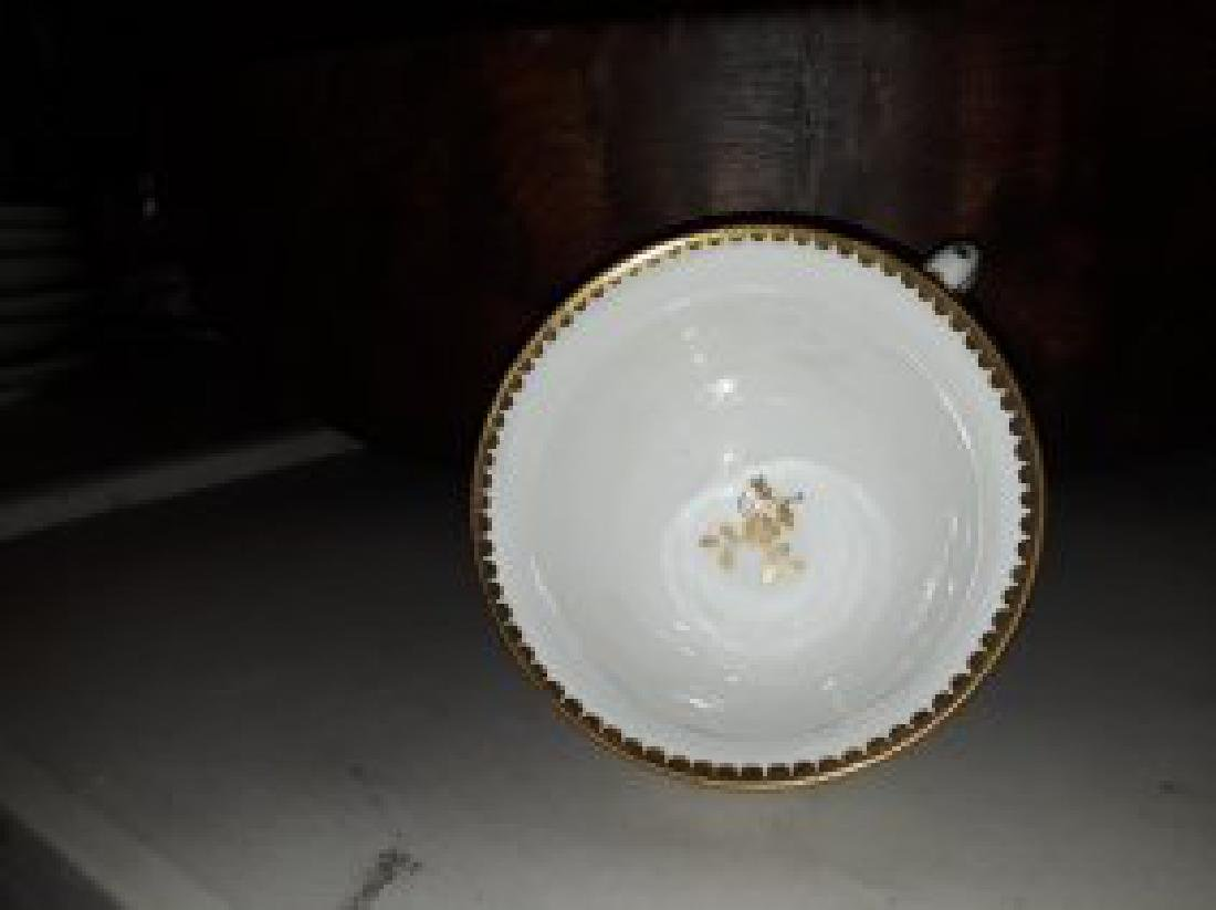 CAPODIMONTE PORCELAIN PART TEA & COFFEE SERVICE - 8