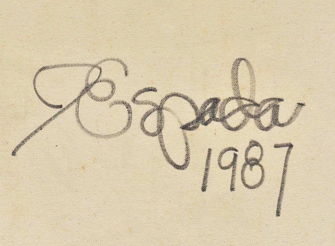 ISBEN ESPADA (American. b. 1952) - 6