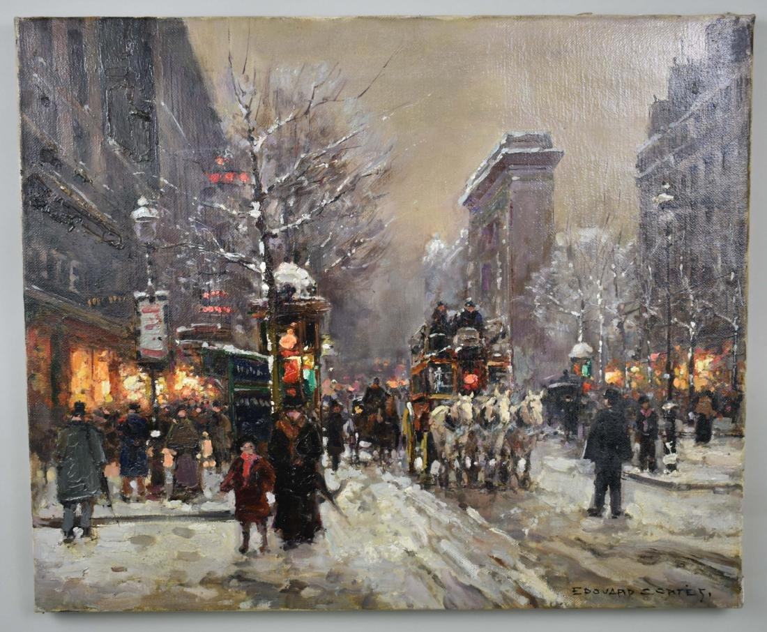 ATTRIBUTED TO EDOUARD CORTES (French. 1882-1969)
