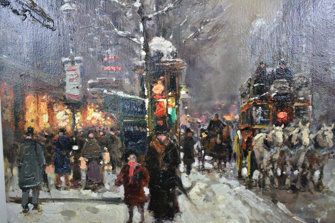 ATTRIBUTED TO EDOUARD CORTES (French. 1882-1969) - 2