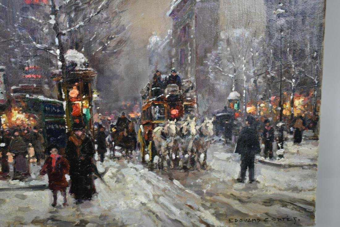 ATTRIBUTED TO EDOUARD CORTES (French. 1882-1969) - 3