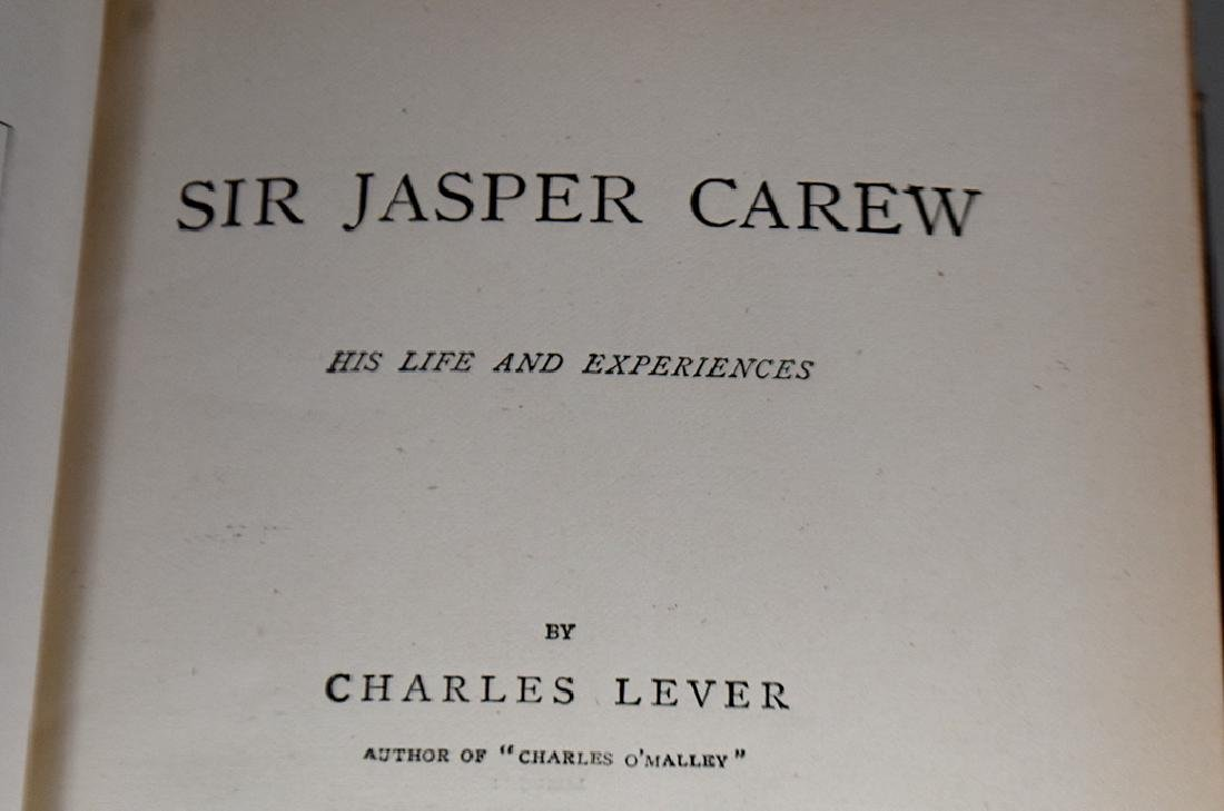 CHARLES LEVER'S WORKS, 23 VOLUMES - 7