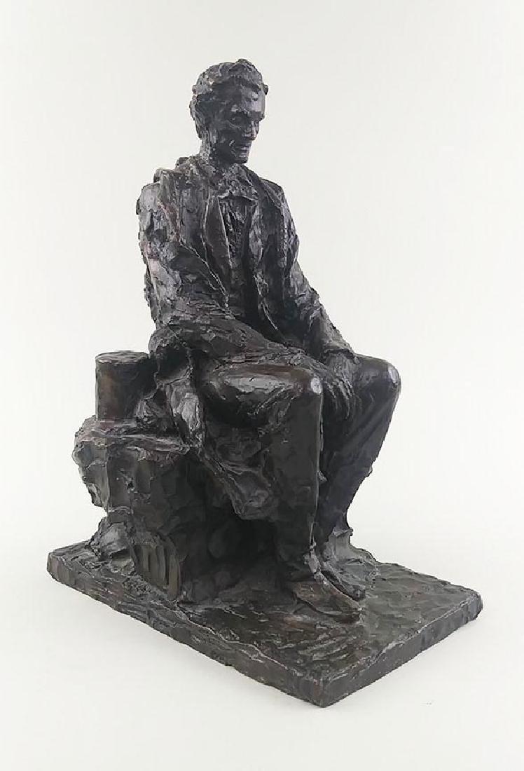 RARE JAMES EARLE FRASER ABRAHAM LINCOLN SCULPTURE - 4
