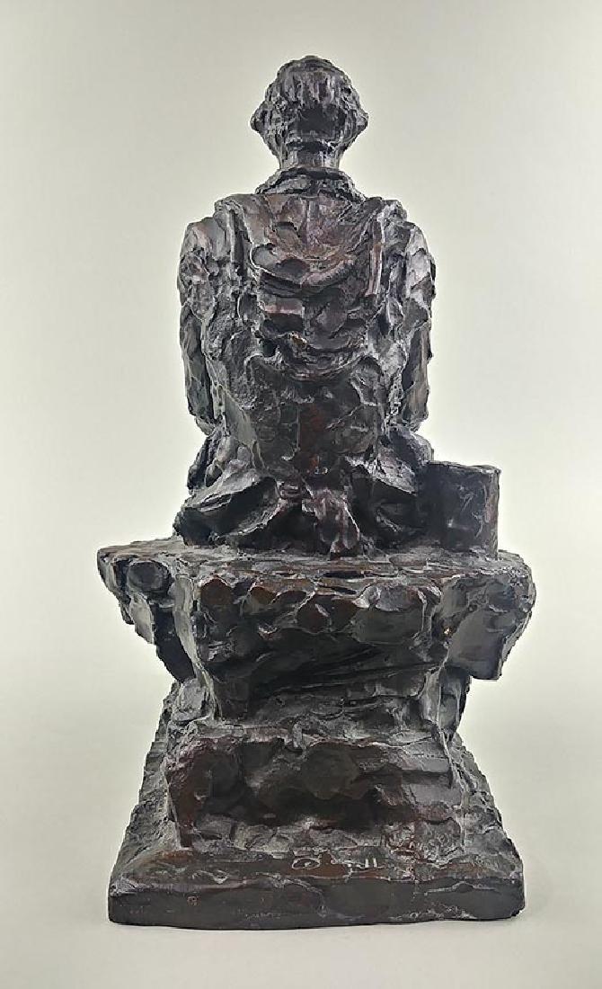 RARE JAMES EARLE FRASER ABRAHAM LINCOLN SCULPTURE - 7