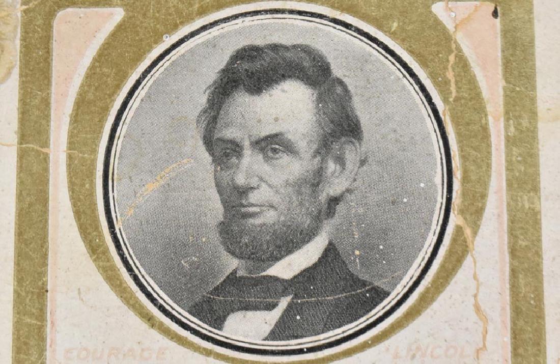 ABRAHAM LINCOLN MEMORIAL POST CARD - 3