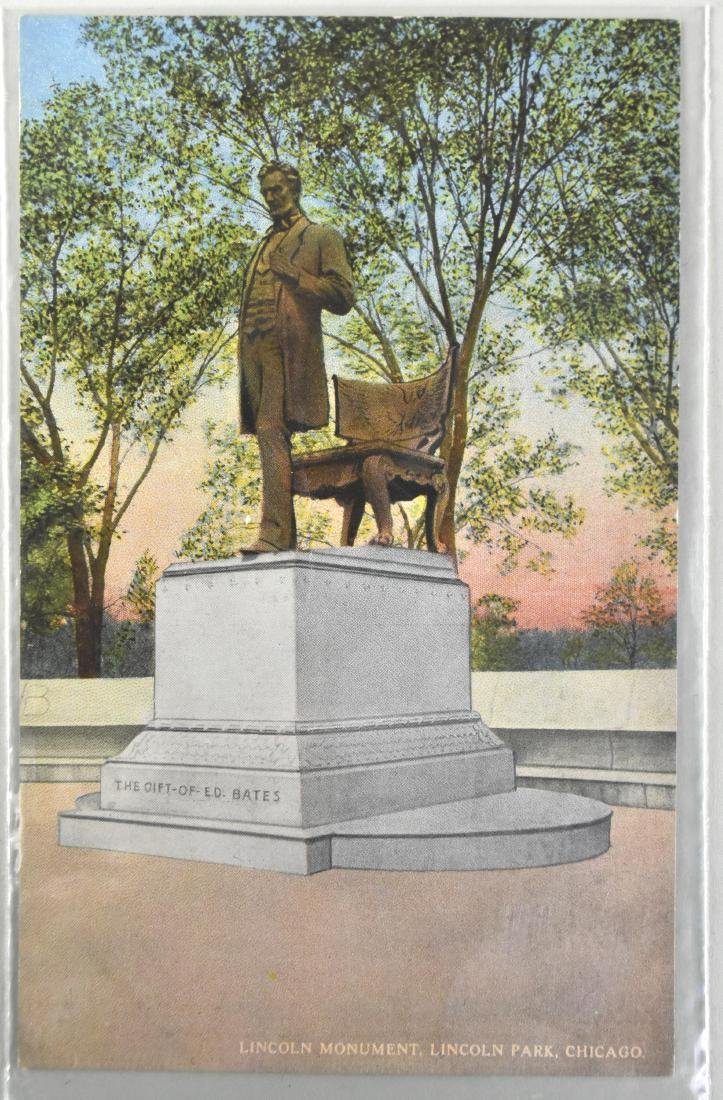 FIVE ABRAHAM LINCOLN SUBJECT MATTER POST CARDS - 7