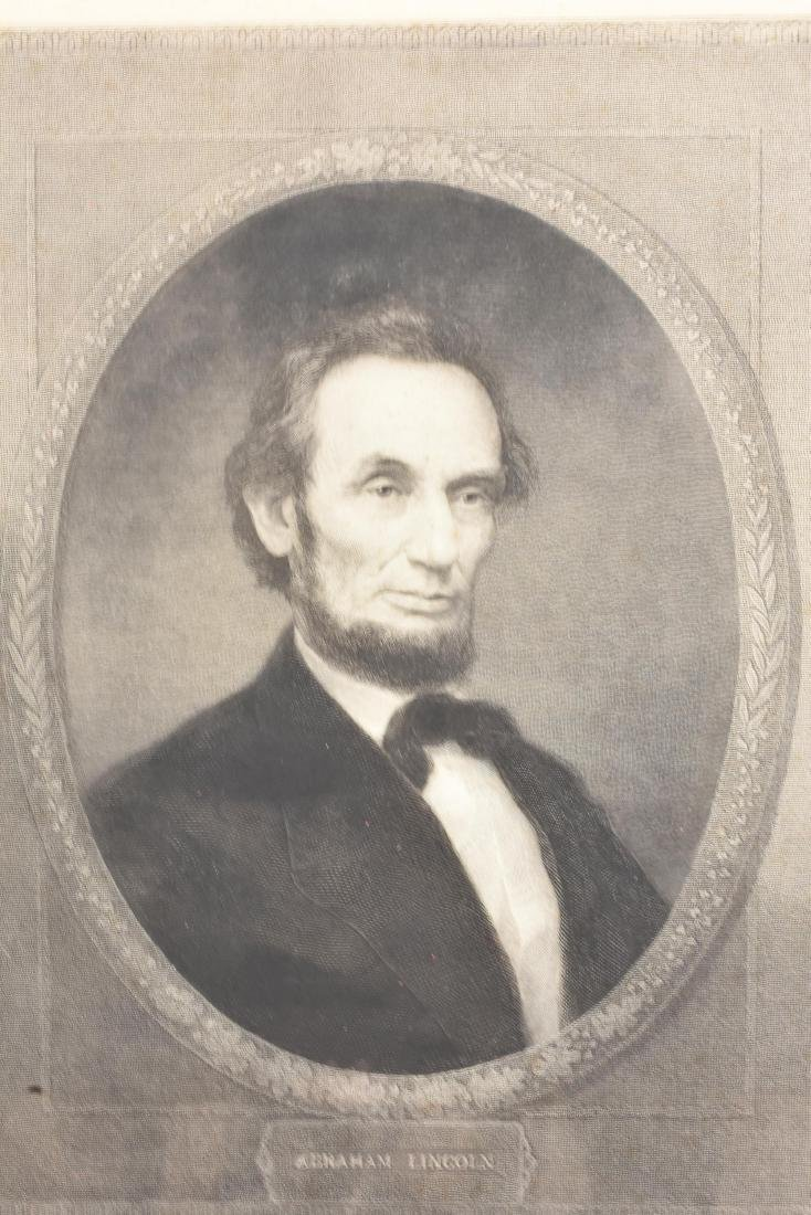 LARGE 19TH C. PHOTOGRAVUE OF ABRAHAM LINCOLN - 2