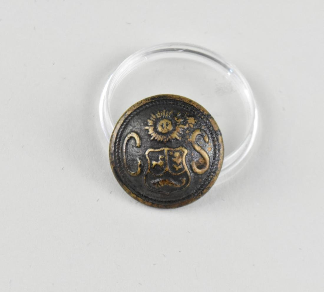 CONFEDERATE STATES CIVIL WAR ERA COAT BUTTON