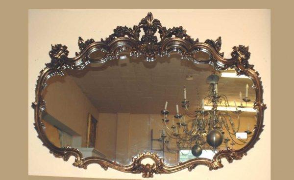 321: Composition Rococo Mirror  (400/600)