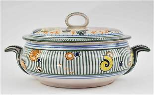 IMPORTANT MATHURIN MEHEUT LA MER COVERED SOUP TUREEN