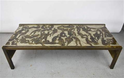 PHILIP & KELVIN LAVERNE LARGE BATHERS TABLE