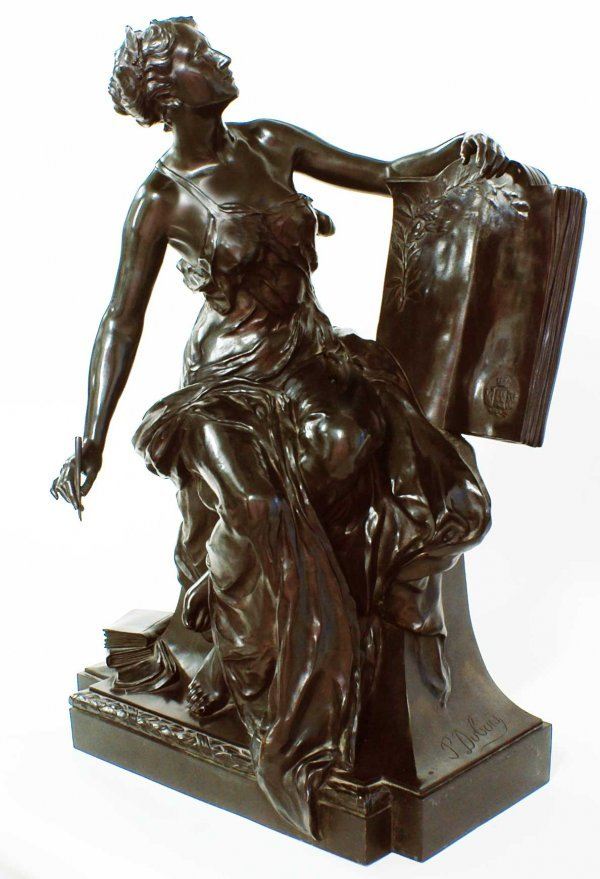 140: Good Paul Dubois, French (1829-1905), Large Bronze