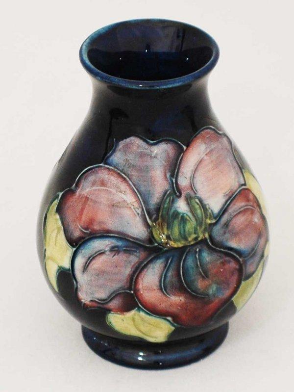 4: Moorcroft Pottery Bud Vase, English 20th Century, wi
