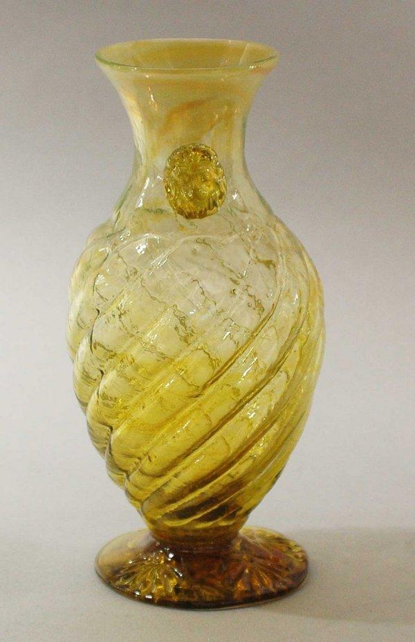9: Tiffany Studios Favril Glass Vase,American C. 1900,
