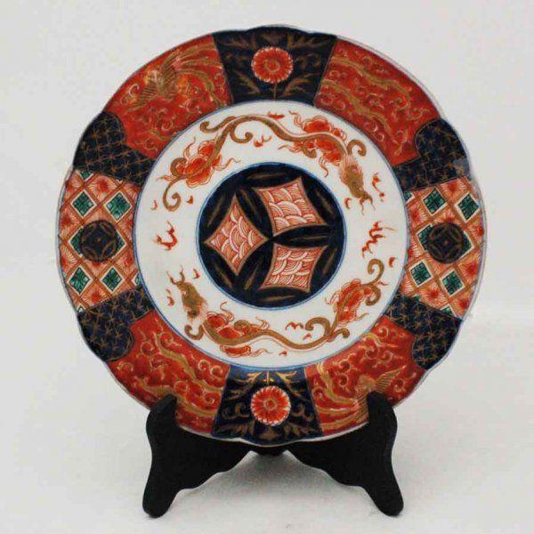 Set of 6 Imari Porcelain Plates, Japanese early 20