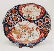 150: Japan Imari Porcelain Tray,Meiji-Period 19th Centu