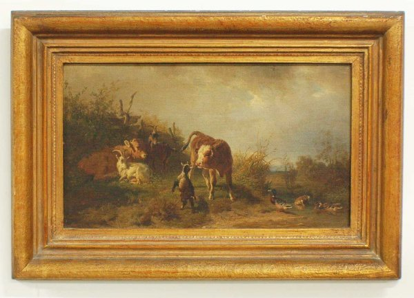 "1230: CONTINENTAL SCHOOL (19th Century)""Landscape with"