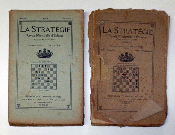 23: LA STRATEGIE CHESS MAGAZINES