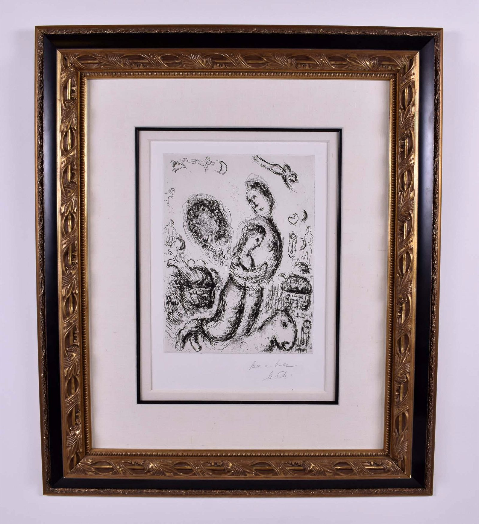 MARC CHAGALL (1887-1985) OFFSET ETCHING
