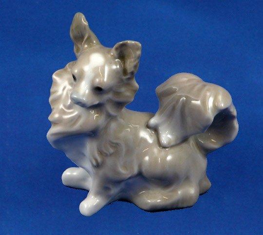 1: Lladro Small Dog Retired Figurine #4749