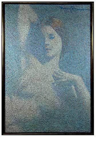 469: Harry Benson 20th Century Oil on Canvas