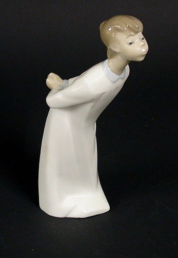 6: Lladro figure of a young boy