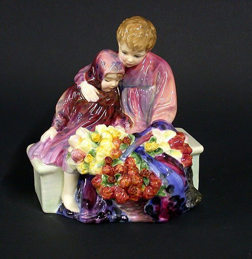 17: Royal Doulton fig Flower Sellers Child