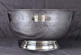THE ALBEE TROPHY STERLING HORSE RACING AWARD