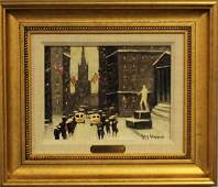 317: GUY WIGGINS (American. 1883-1962)