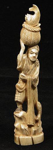 4: Japanese Ivory Okimono