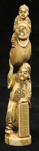 6: Japanese Ivory Okimono