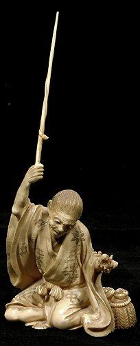 15: Japanese Ivory Okimono