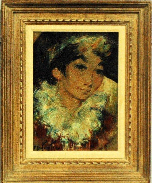 1023: PIERRE EUGENE DUTEURTRE (French. Born 1911)