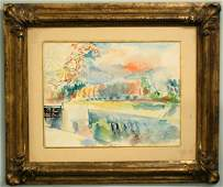 1143: JEAN DUFY (French. 1888-1964)