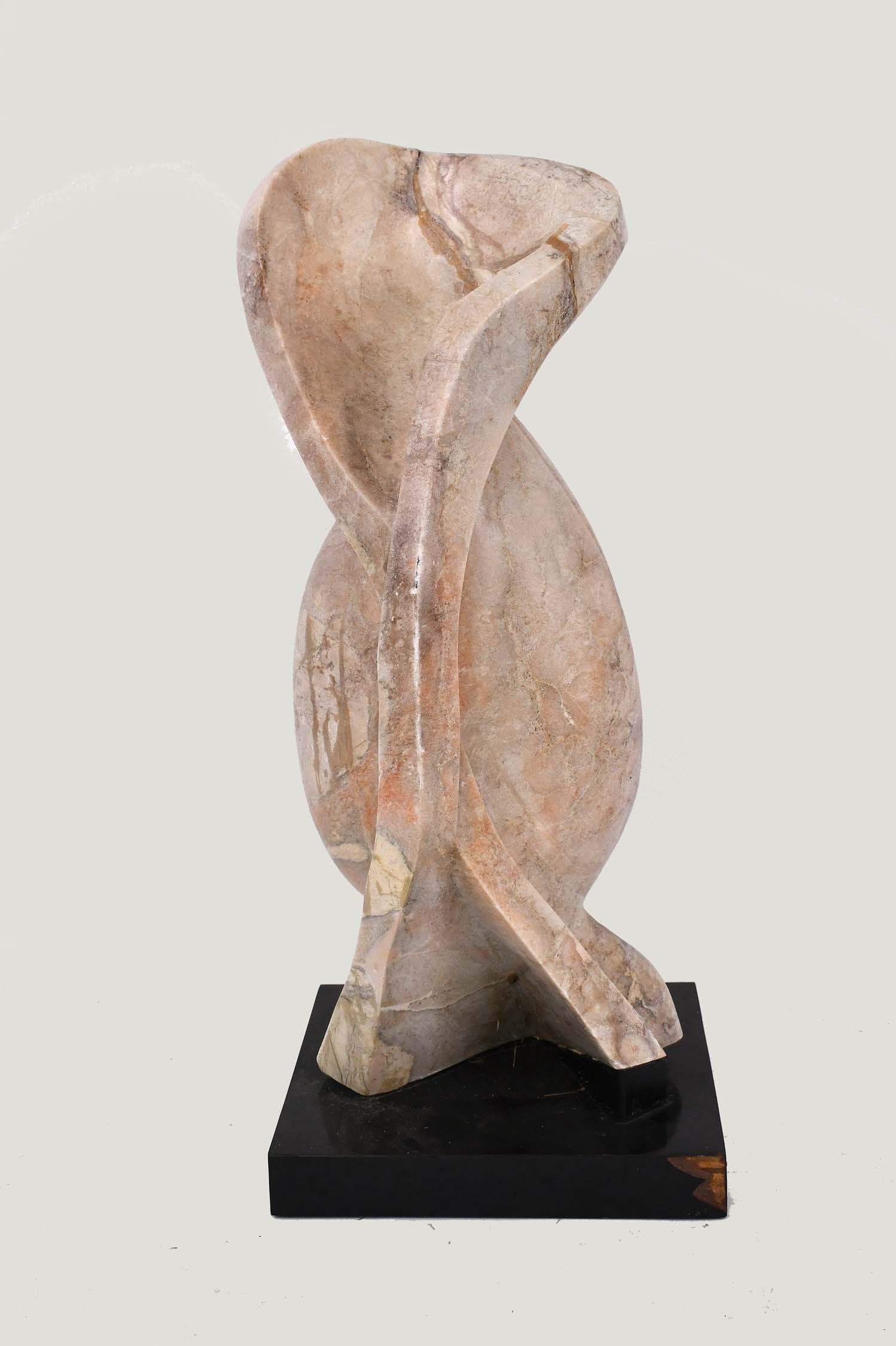 MODERNIST CARVED MARBLE ABSTRACT