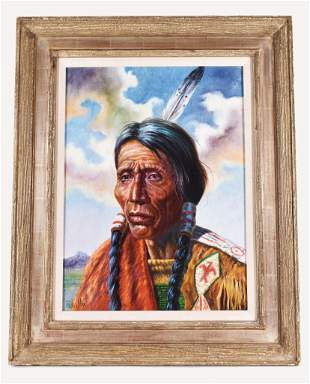 GREGORY PERILLO American b 1929 PAINTING