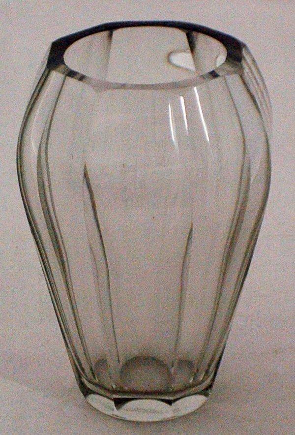 1: MOSER GLASS VASE