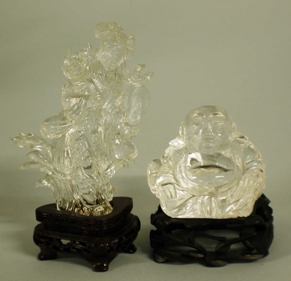 16: TWO CRYSTAL FIGURES