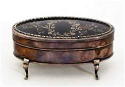 1002: EDWARD VII S/S AND TORTOISE SHELL BOX