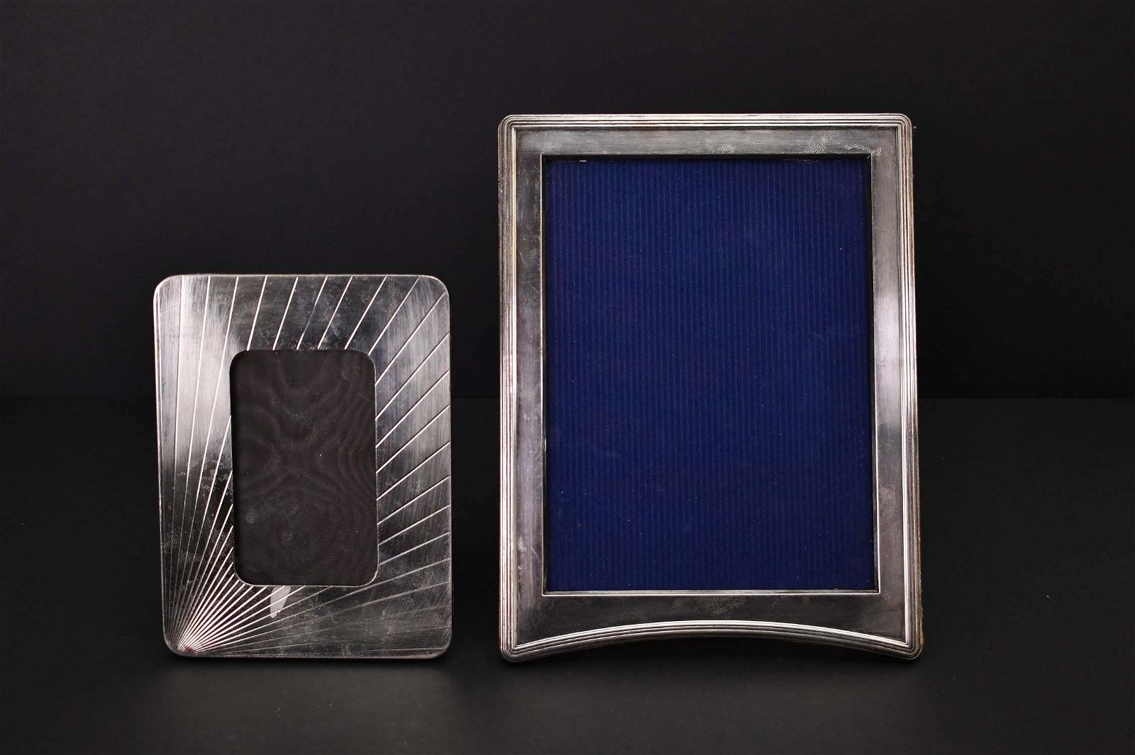 CONTINENTAL STERLING SILVER FRAME & SILVERPLATE FRAME
